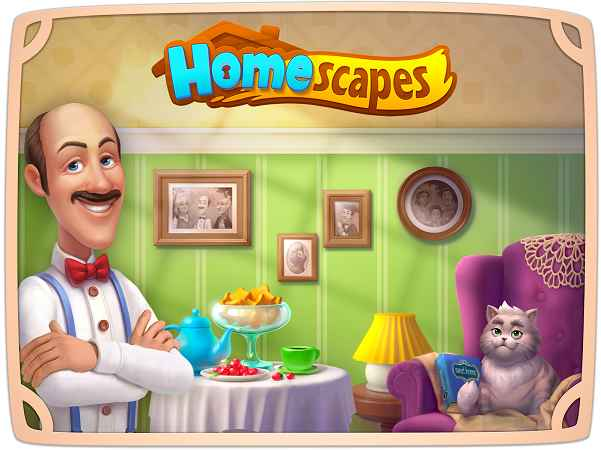 تهكير لعبة homescapes